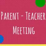 5th Year Parent Teacher Meeting