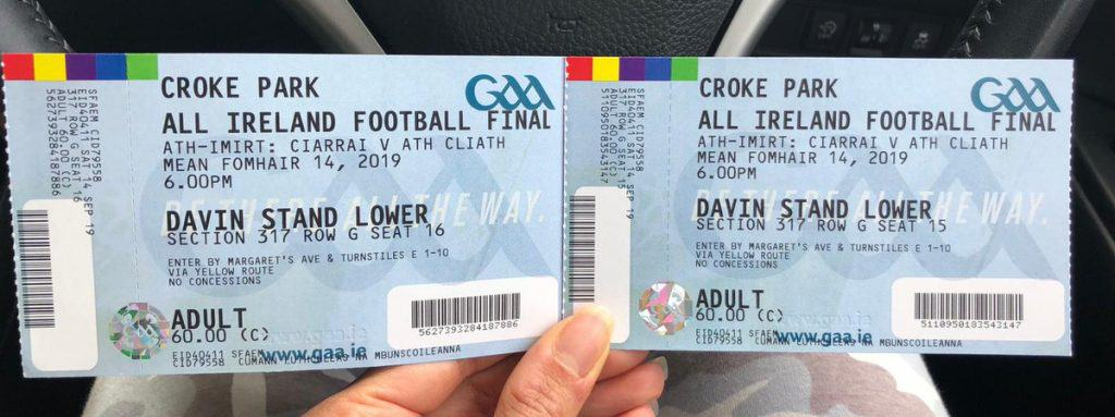 All Ireland Tickets 1